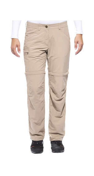 VAUDE Farley IV ZO Pants short Women muddy